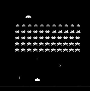 Space Invaders is like Life
