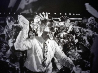 """The original ending """"Pie Fight"""" was left on the cutting room floor."""