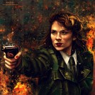Agent Carter fanart by VarshaVijayan