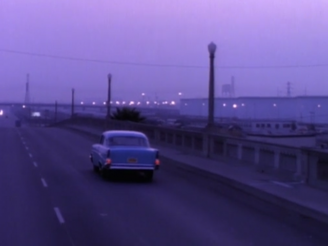 Michael does drive into the sunset