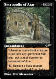 Necropolis of Azar from The Astral Set