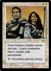 Rainbow Knights from The Astral Set