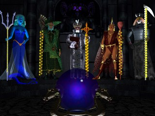 The Five Wizards of Shandalar