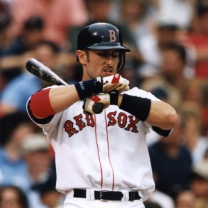 Nomar Garciaparra at the plate