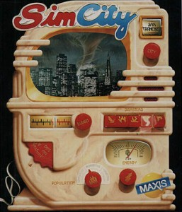 Original SimCity Box Art