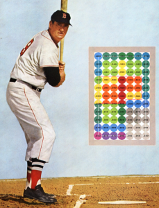 The Strike Zone of Ted Williams Era