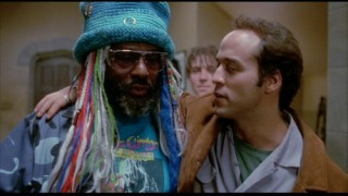 Droz and the legendary George Clinton in PCU