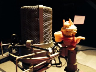Ginger's Podcast Microphone