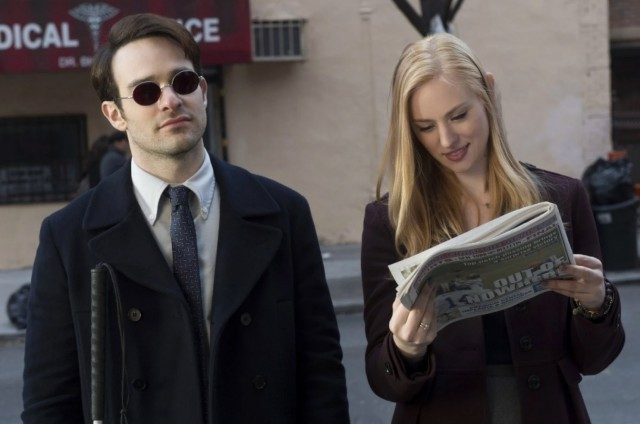 Everyone is reading about Daredevil Even Murdock and Page