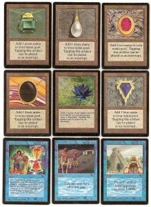 A Set of the Power Nine from Beta