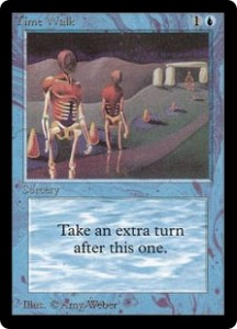 Time Walk of the Magic the Gathering Power Nine