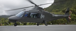 InGen helicopters make another appearance in the series
