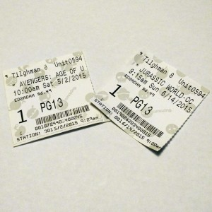 Proof of the Two Movies I Saw in May and June