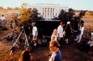 White House miniature before it was blown up for Independence Day