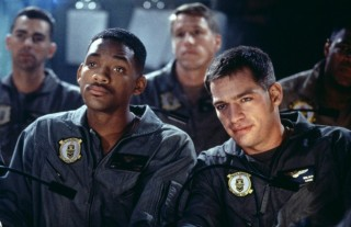 Will Smith and Harry Connick Jr in Independence Day