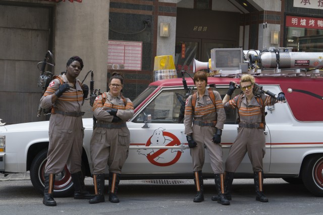 First look at the New Ghostbusters cast