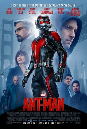 Official Movie Poster for Marvel's Ant-Man