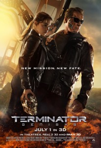 Theatrical Release Poster for Terminator Genisys