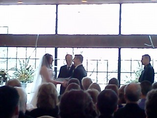 A blurry photo of the KIA Wedding