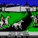 Fort Laramie on The Oregon Trail
