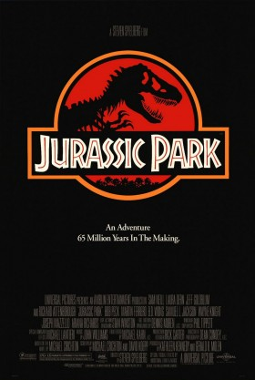 Jurassic Park Official Movie Poster