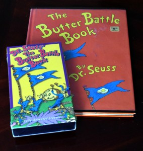 The Butter Battle Book and VHS Tape