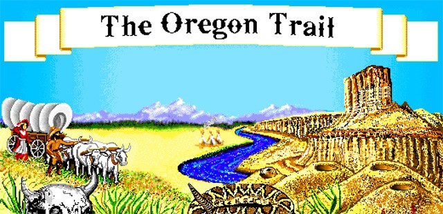 The Oregon Trail PC Game by MECC