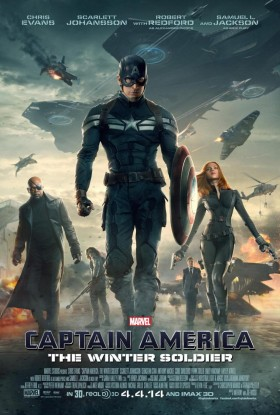 Captain America The Winter Soldier Official Movie Poster