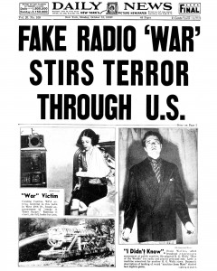Daily News Headline from Monday October 31 1938