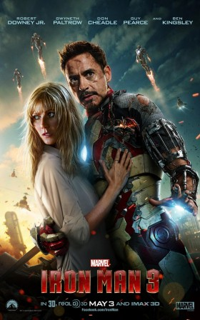 Iron Man Three Official Movie Poster