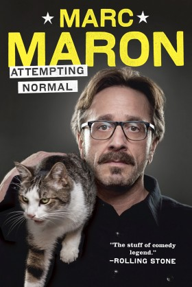 Marc Maron Attempting Normal Book Cover