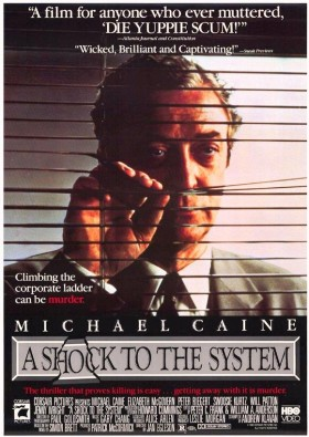 Michael Caine A Shock to the System Official Movie Poster