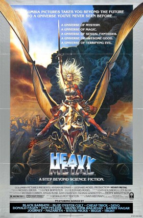 Official 1981 Heavy Metal Movie Poster