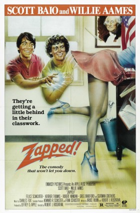 Official Zapped Movie Poster