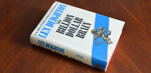 The Billion Dollar Brain by Len Deighton