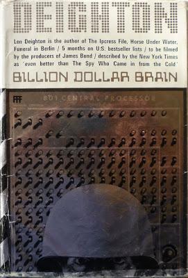 The Billion Dollar Brain by Len Deighton Book Cover