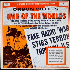 The War of the Worlds Radio Broadcast