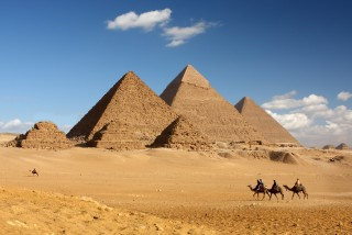 The Pyramids are on Danny's Bucket List