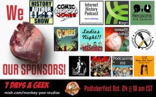 We Love the Sponsors of Podtoberfest