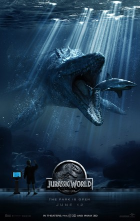 Jurassic World Official Movie Poster