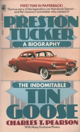 Preston Tucker A Biography Book Cover