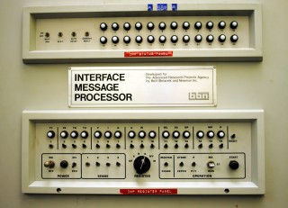 The Front Panel of an IMP Interface Message Processor