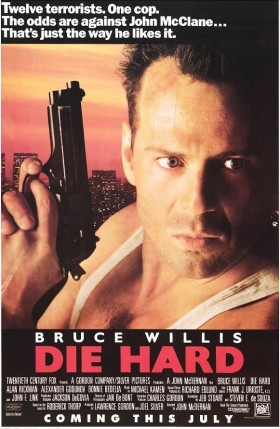 Die Hard 1988 Official Movie Poster