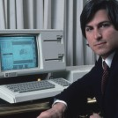 Steve Jobs with Lisa Computer