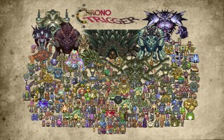 Chrono Trigger All the Beautiful Sprites