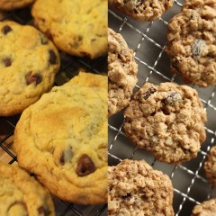 Chocolate Chip vs Oatmeal Raisin Cookies
