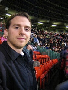 Matt at Old Trafford
