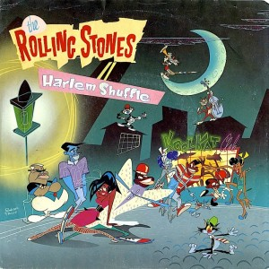 The Rolling Stones Harlem Shuffle Single Album Cover