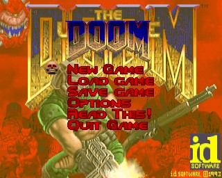 Doom Start Screen