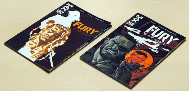 Fury: My War Gone By from Marvel's MAX series